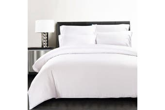 Silky Soft 100% Bamboo Quilt Cover - White - Queen