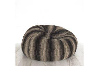 Lush Fur Bean Bag - Wolf