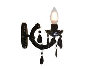 Grace Wall Chandelier 1 light - Black