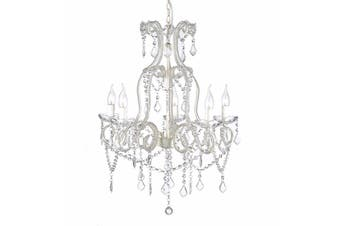 Dignity Chandelier 5 Light - White