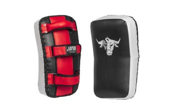 Thai Pads MMA Kickboxing Kick Pad Strike Shield MMA Thai Focus Arm Punching Bag Muay Thai (Pair) - Javson