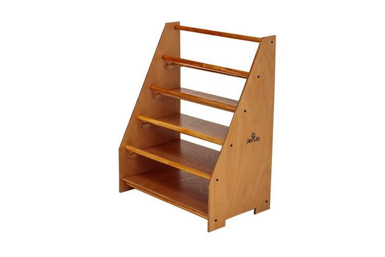 Wooden 4 Level Bookshelf 70cm Height