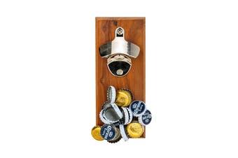 Walnut Magnetic Bottle Opener