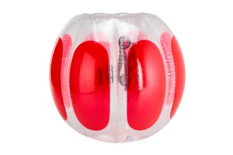 Adult Inflatable Bubble Soccer Ball Red 120x150cm