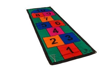 Colourful 3m Length Hopscotch Mat w/ Pegs