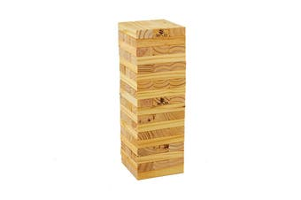 54 Piece Outdoor Giant Jenjo Wooden Block Game 54cm