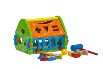 Wooden Toy Playhouse