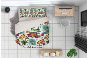 3D Hand Painted Holiday Quilt Cover Set Bedding Set Pillowcases 27-Double