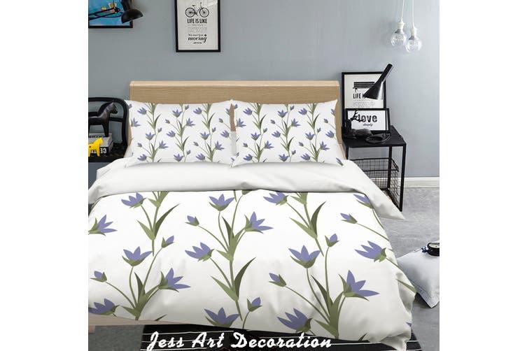 3D Color Flowers Pattern Quilt Cover Set Bedding Set Pillowcases 278-Single