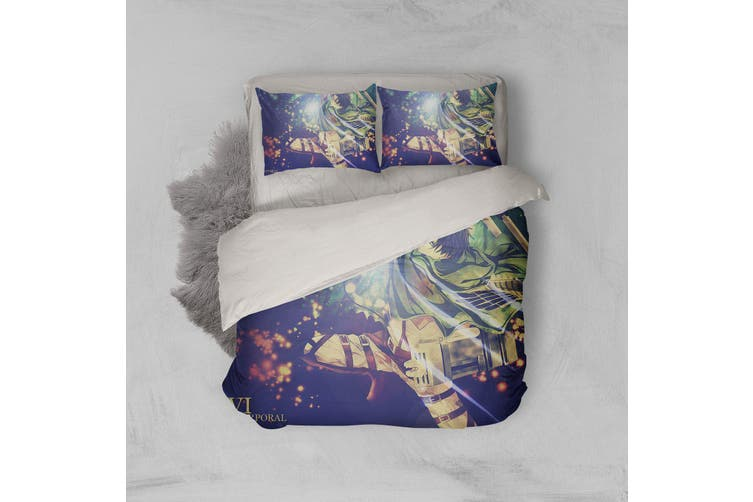 3D Anime Attack Giant Quilt Cover Set Bedding Set Pillowcases 75-Queen