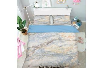 3D Marble Decorative Effect Quilt Cover Set Bedding Set Pillowcases  207-Single
