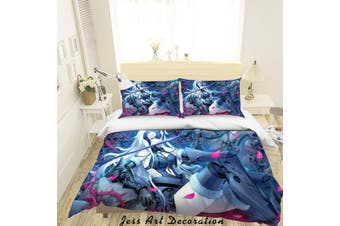 3D Fate Stay Night Grand Order Quilt Cover Set Bedding Set Pillowcases 16-King