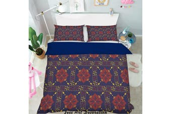 3D Color Plaid Decorative Pattern Quilt Cover Set Bedding Set Pillowcases 150-Single