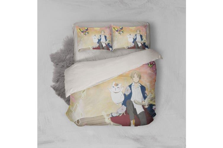 3D Anime Return Name Quilt Cover Set Bedding Set Pillowcases 26-Queen