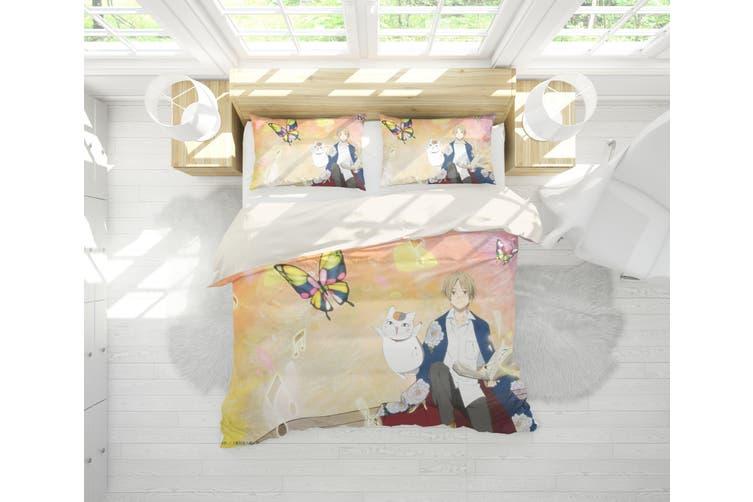 3D Anime Return Name Quilt Cover Set Bedding Set Pillowcases 26-King