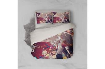 3D Anime Return Name Quilt Cover Set Bedding Set Pillowcases 23-Queen