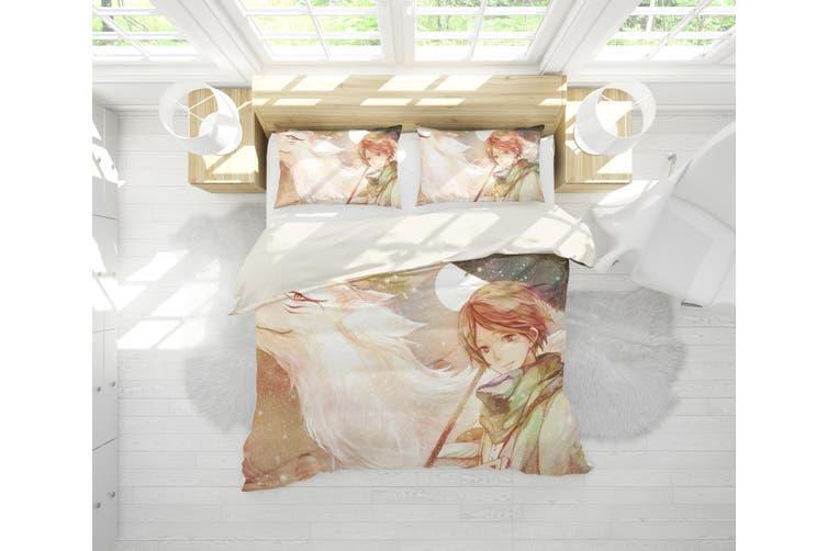 3D Anime Return Name Quilt Cover Set Bedding Set Pillowcases 18-Single