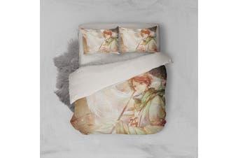 3D Anime Return Name Quilt Cover Set Bedding Set Pillowcases 18-Double