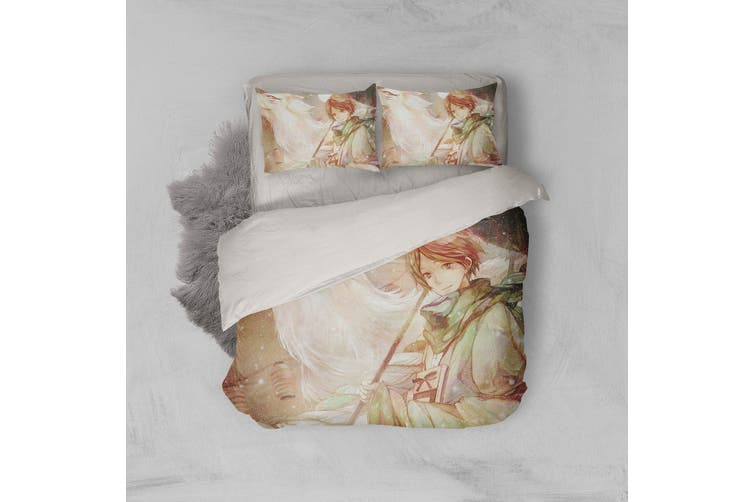 3D Anime Return Name Quilt Cover Set Bedding Set Pillowcases 18-Queen