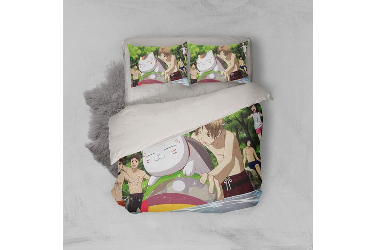 3D Anime Return Name Quilt Cover Set Bedding Set Pillowcases 15-King
