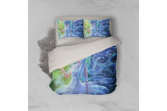3D Anime Singer Miku Quilt Cover Set Bedding Set Pillowcases 04-Single