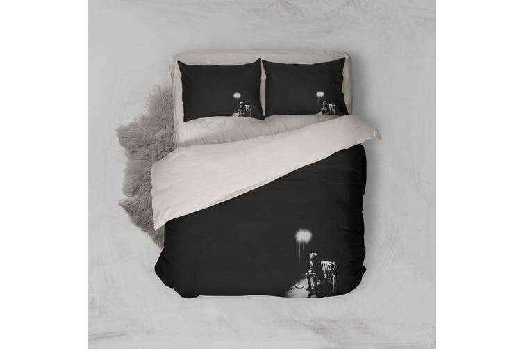 3D Band Bob Dylan Quilt Cover Set Bedding Set Pillowcases 216-Double