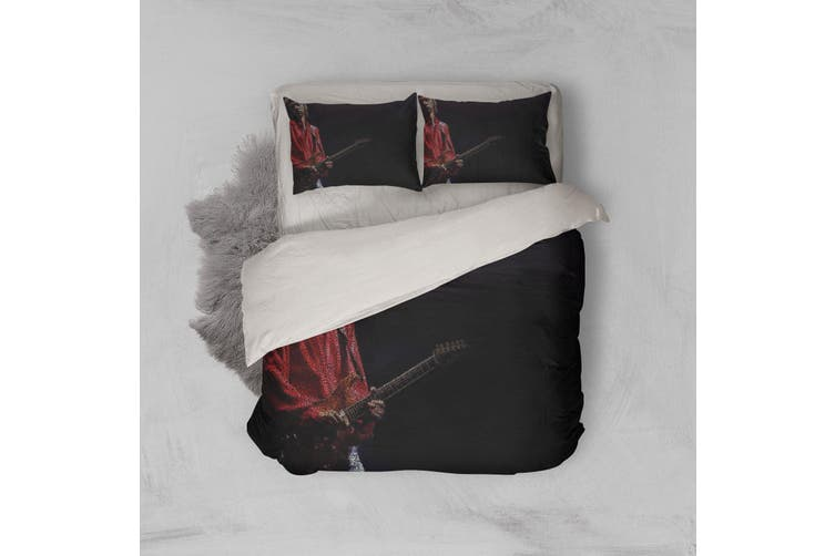 3D Band Dire Straits Quilt Cover Set Bedding Set Pillowcases 199-Double