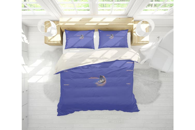3D Band Dire Straits Quilt Cover Set Bedding Set Pillowcases 198-Single