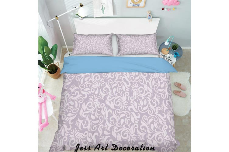 3D Color Decorative Pattern Quilt Cover Set Bedding Set Pillowcases  47-Double