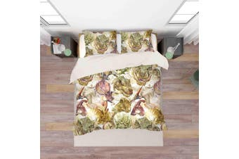 3D Color Dinosaur Quilt Cover Set Bedding Set Pillowcases  38-King