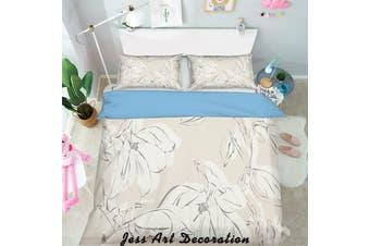3D Black White Pattern Quilt Cover Set Bedding Set Pillowcases  123-Single