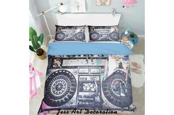 3D Black White Pattern Quilt Cover Set Bedding Set Pillowcases  122-King