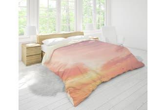 3D Golden Sunset Sea Quilt Cover Set Bedding Set Pillowcases 38-Single