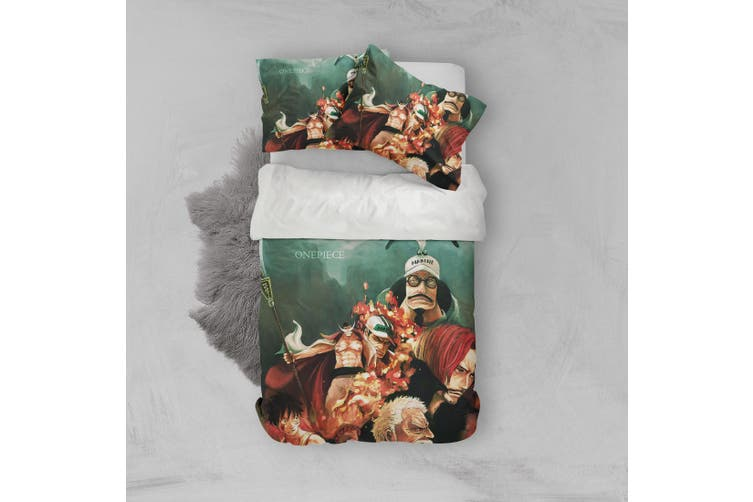 3D Anime Characters Quilt Cover Set Bedding Set Pillowcases 216-King