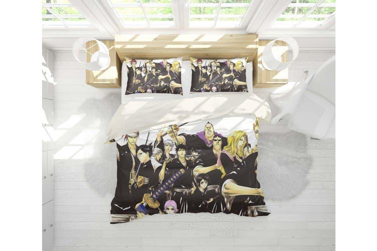 3D Anime Grim Reaper Quilt Cover Set Bedding Set Pillowcases 35-Double