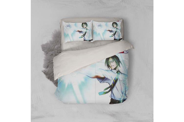 3D Anime Grim Reaper Quilt Cover Set Bedding Set Pillowcases 34-King