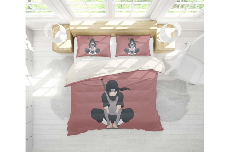 3D Anime Characters Quilt Cover Set Bedding Set Pillowcases 202-Queen
