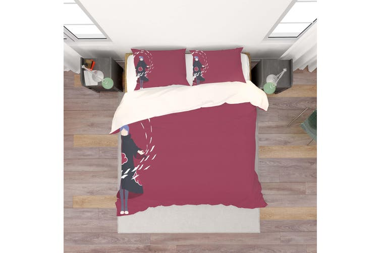 3D Anime Characters Quilt Cover Set Bedding Set Pillowcases 200-Double