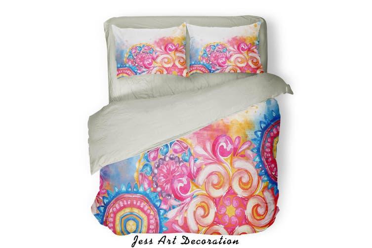 3D Color Pattern Quilt Cover Set Bedding Set Pillowcases  82-Queen