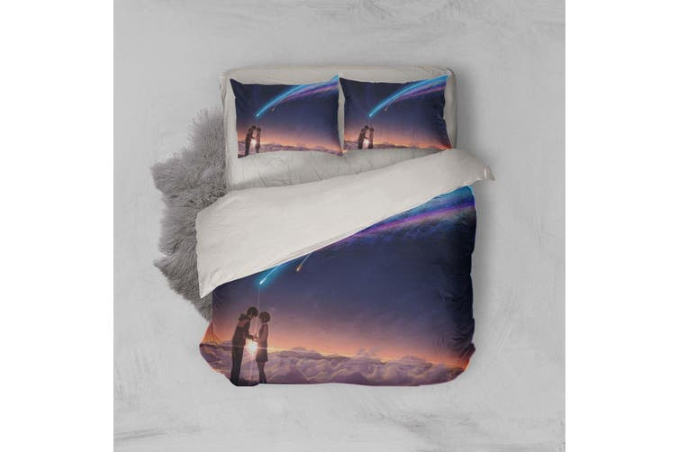 3D Your Name Quilt Cover Set Bedding Set Pillowcases 169-King