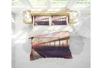3D Your Name Quilt Cover Set Bedding Set Pillowcases 165-King
