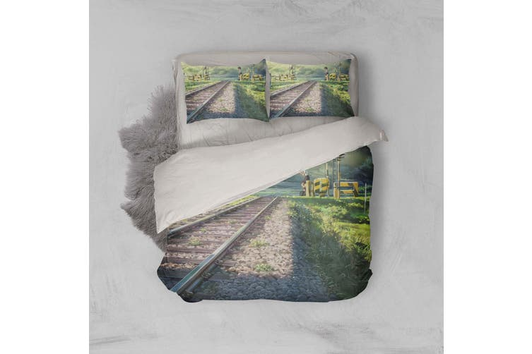 3D Your Name Quilt Cover Set Bedding Set Pillowcases 146-Double