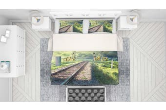 3D Your Name Quilt Cover Set Bedding Set Pillowcases 146-King
