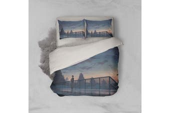 3D Your Name Quilt Cover Set Bedding Set Pillowcases 145-Queen
