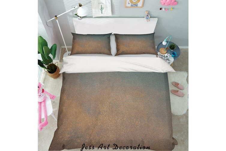 3D Dark Frosted Quilt Cover Set Bedding Set Pillowcases 94-Double