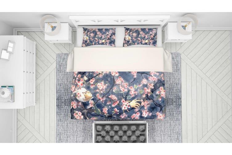 3D Mushishi Anime Quilt Cover Set Bedding Set Pillowcases 137-Single