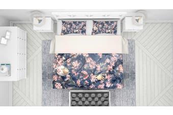 3D Mushishi Anime Quilt Cover Set Bedding Set Pillowcases 137-King
