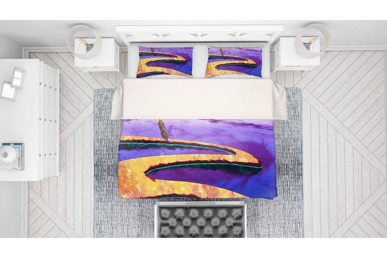 3D Mushishi Anime Quilt Cover Set Bedding Set Pillowcases 136-Single