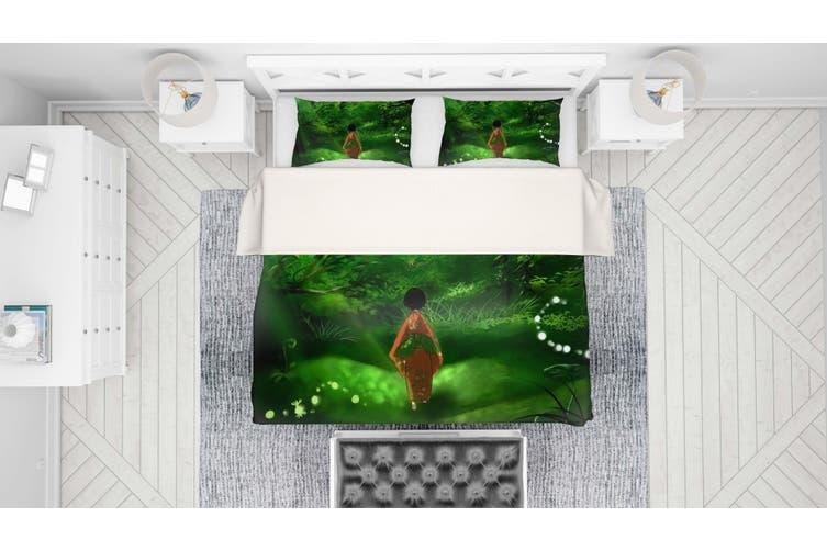 3D Mushishi Anime Quilt Cover Set Bedding Set Pillowcases 131-Single