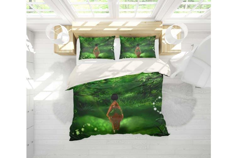3D Mushishi Anime Quilt Cover Set Bedding Set Pillowcases 131-Double